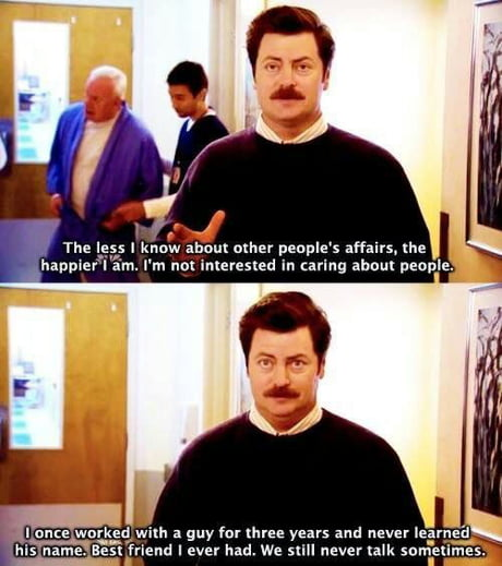 chucklesome Ron swanson memes