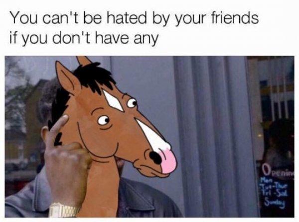 comic BoJack Horseman memes