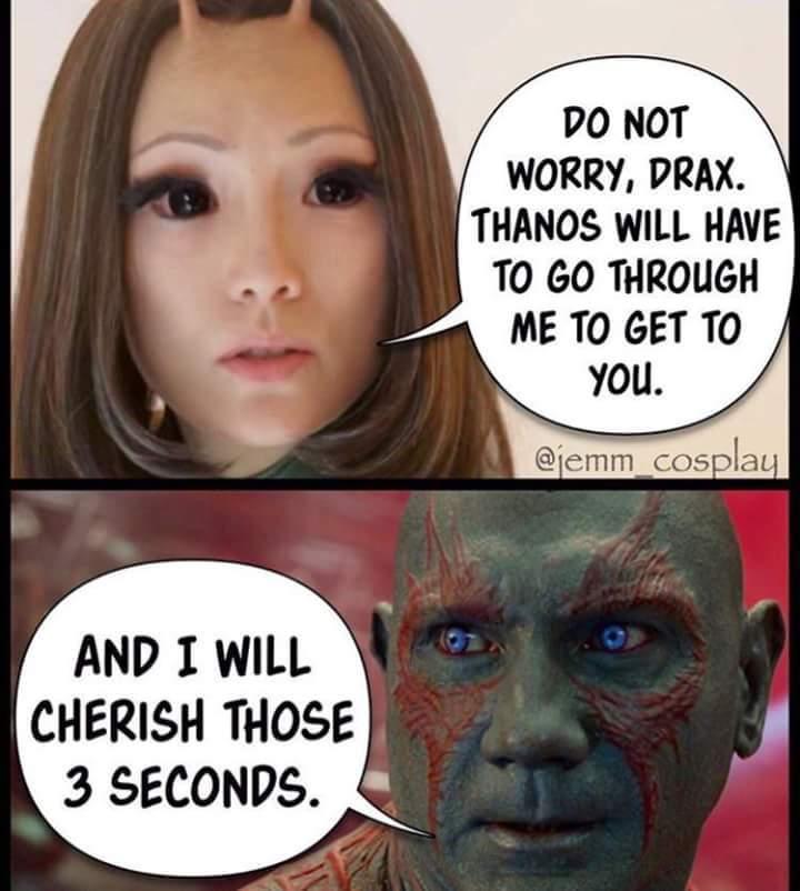 comic Drax memes