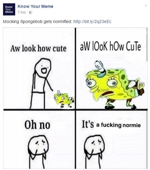 comic Normie meme