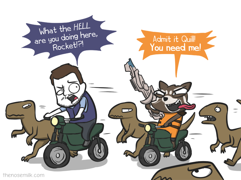 comic Rocket raccoon memes