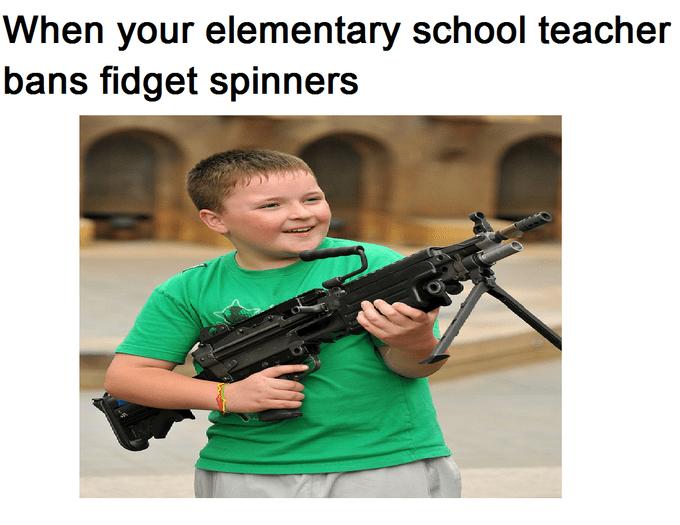 comic fidget spinners memes