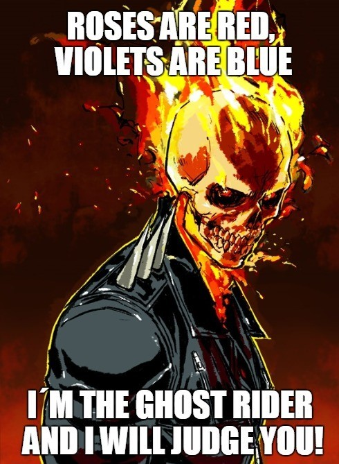 comic ghost rider memes