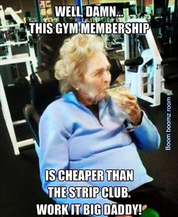 comic workout memes