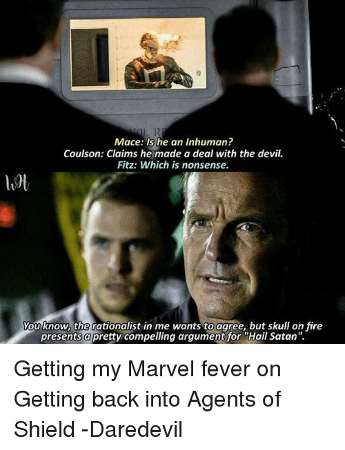 comical Agents of Shield memes
