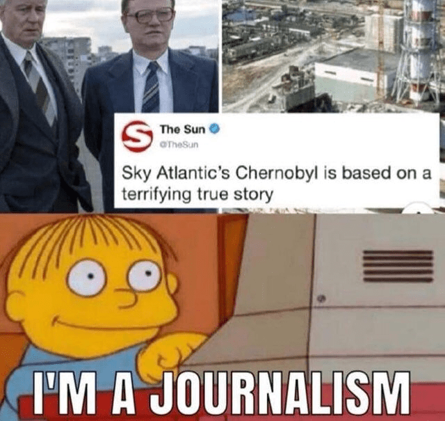 comical Chernobyl memes
