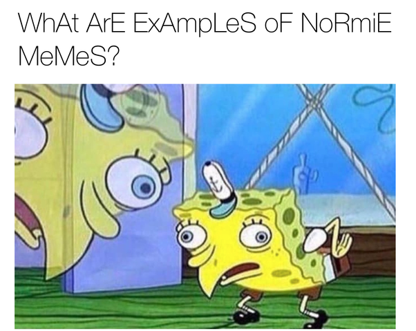 comical Normie meme