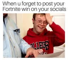 comical fortnite memes