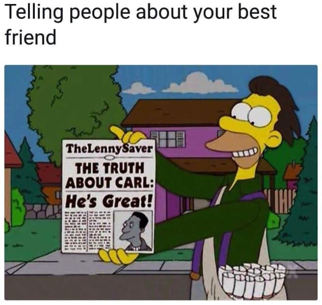 comical friend memes
