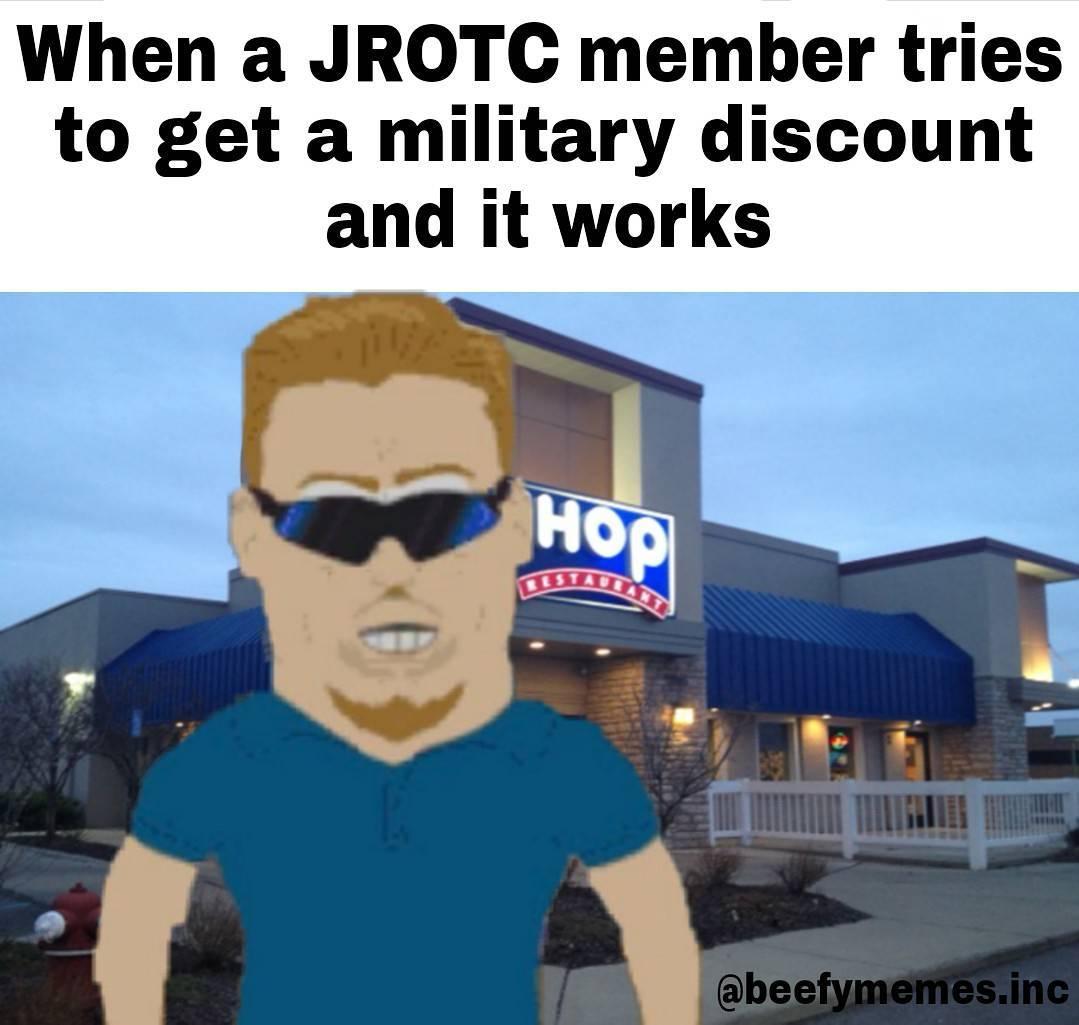 comical jrotc memes