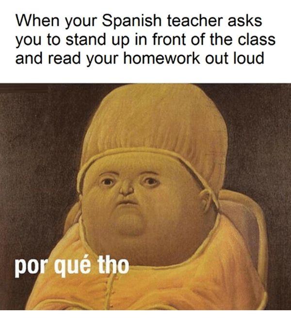 comical spanish memes
