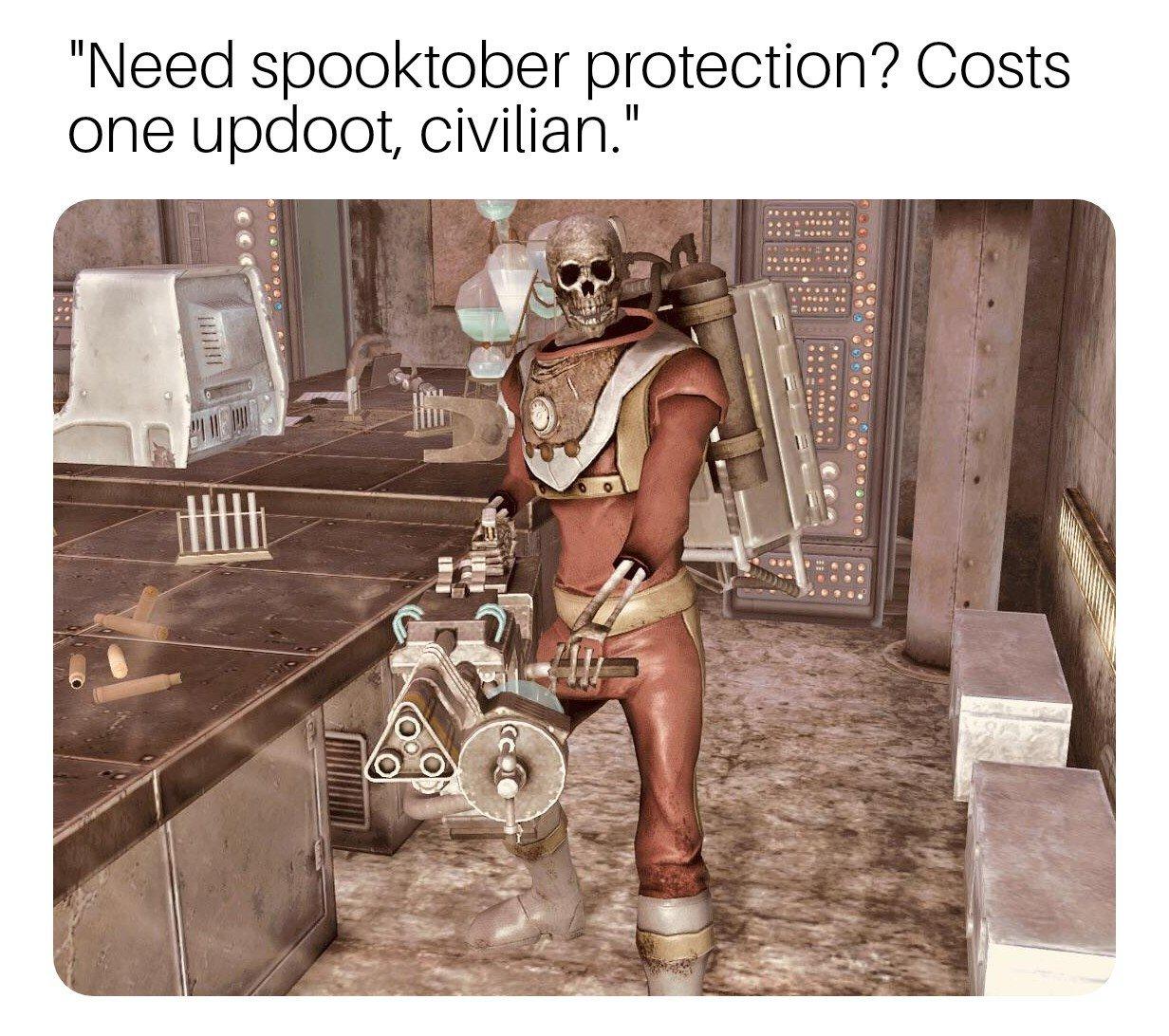 comical spooky memes