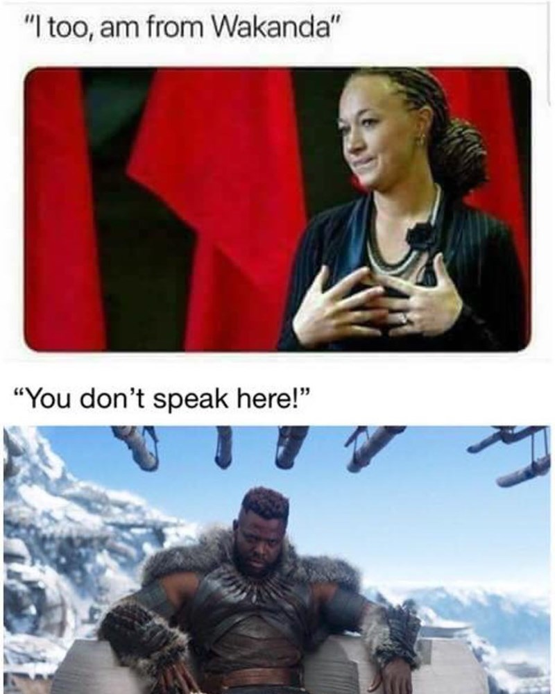 droll, Black panther memes
