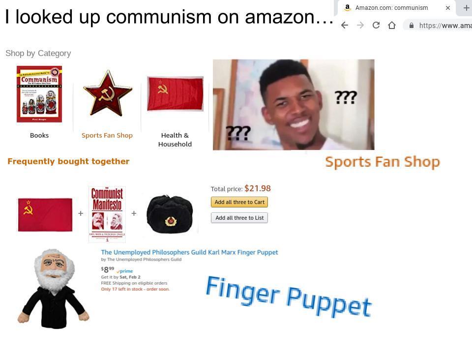 droll, Communist memes