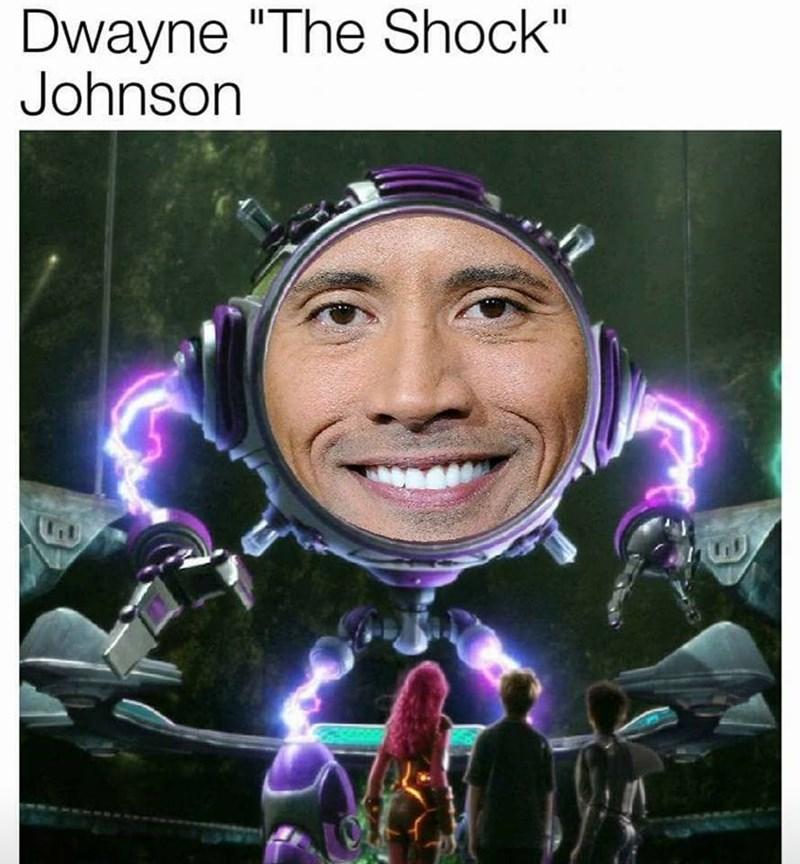 "droll, Dwayne Johnson ""The Rock"" memes"