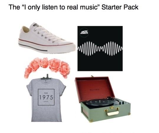 droll, Starter pack meme