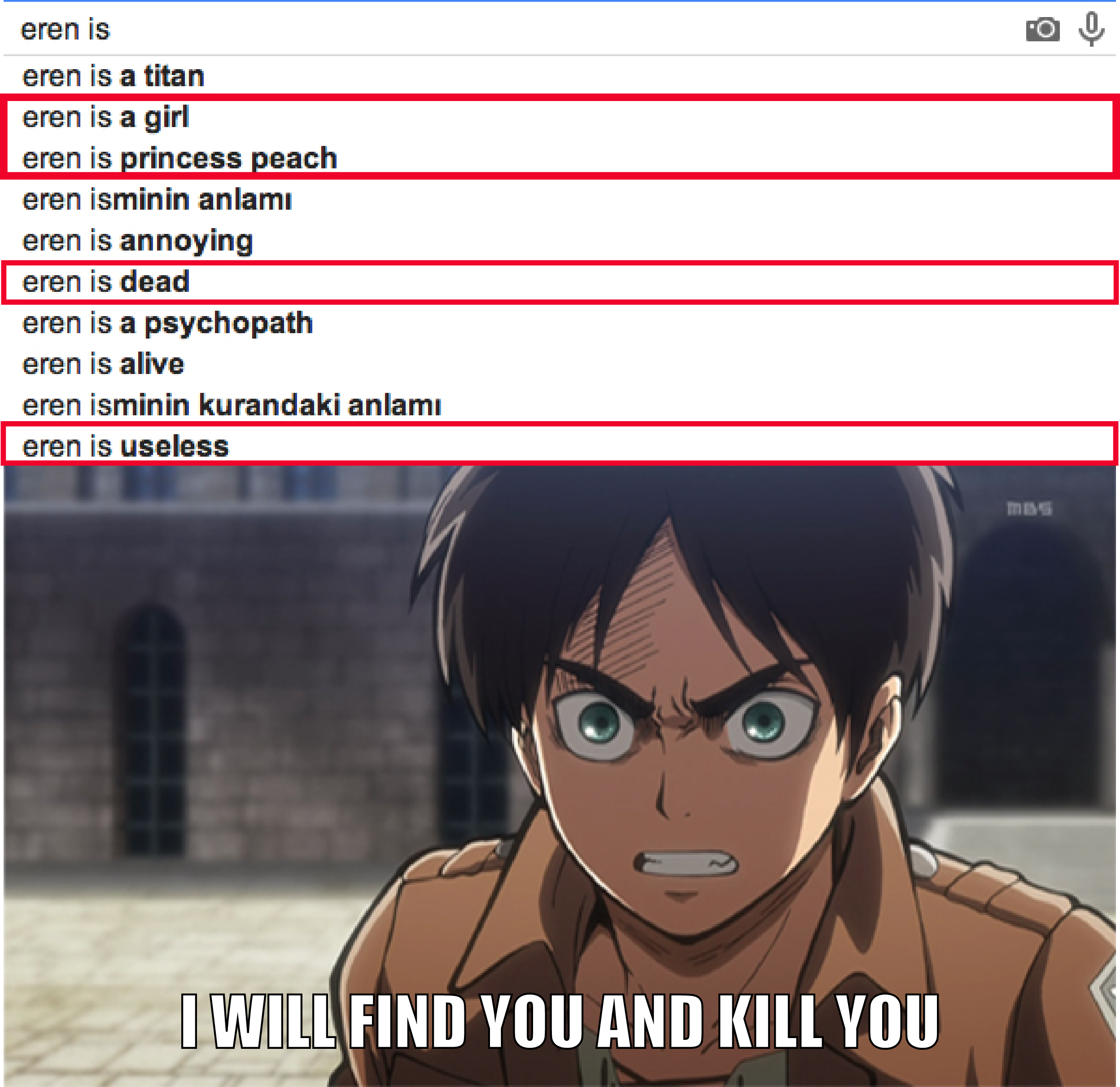 entertaining Attack on titan memes