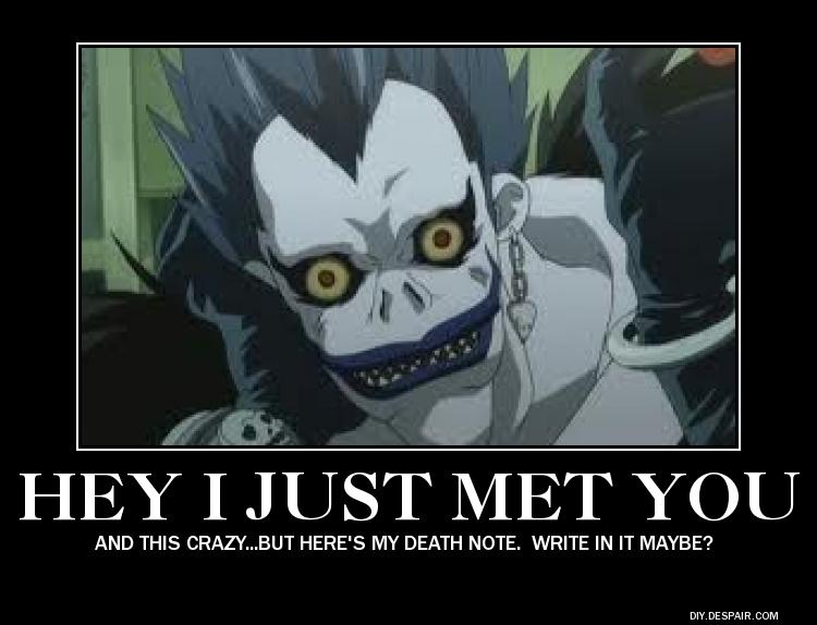 entertaining death note memes