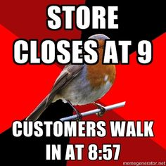 entertaining retail memes