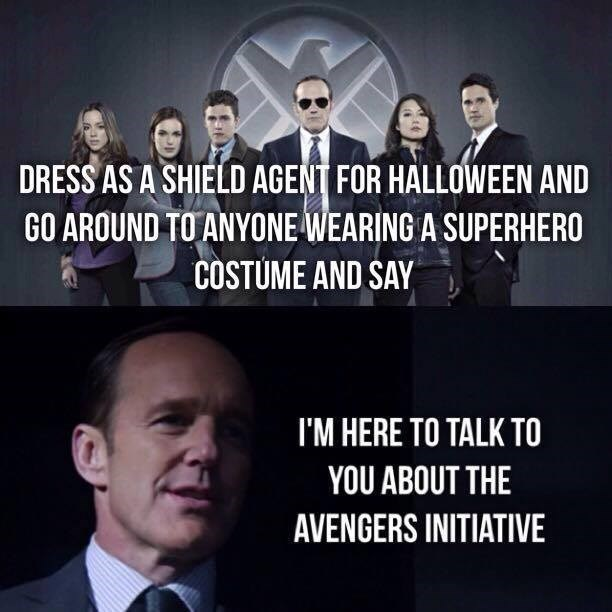 high-spirited Agents of Shield memes