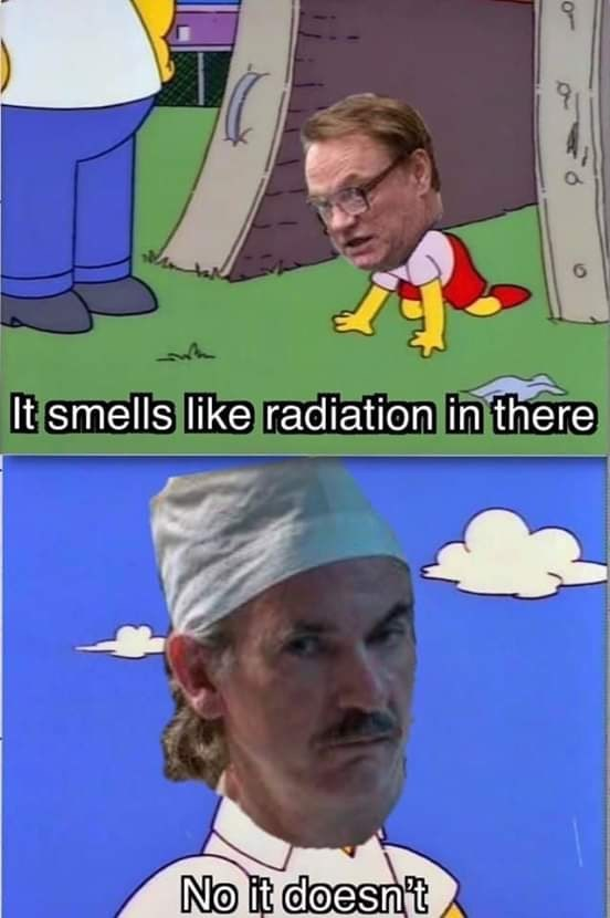 high-spirited Chernobyl memes