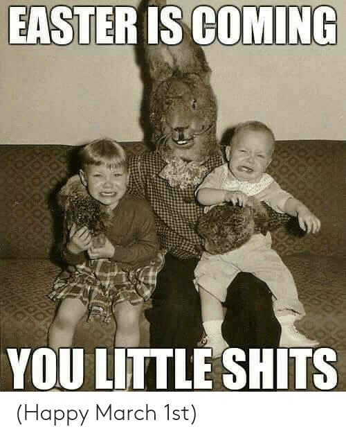 high-spirited Easter memes
