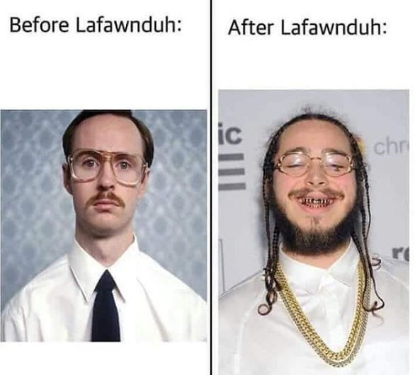 high-spirited Post malone memes