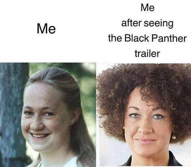 humorous Black panther memes