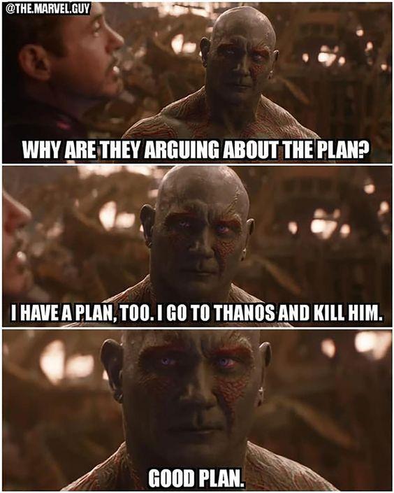 humorous Drax memes
