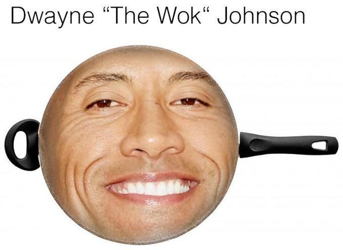 "humorous Dwayne Johnson ""The Rock"" memes"