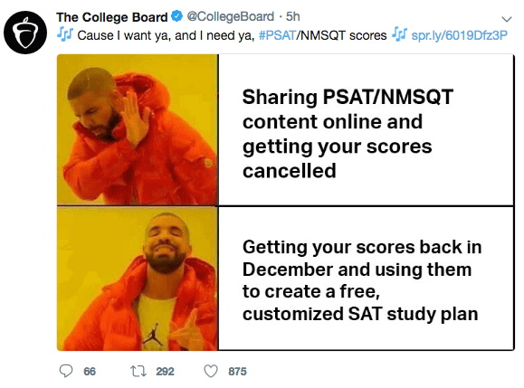 humorous Psat memes
