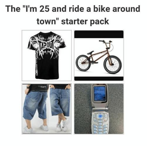 humorous Starter pack meme