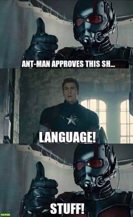 humorous ant-man memes