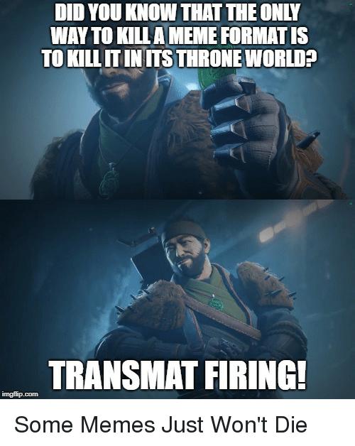 humorous destiny memes