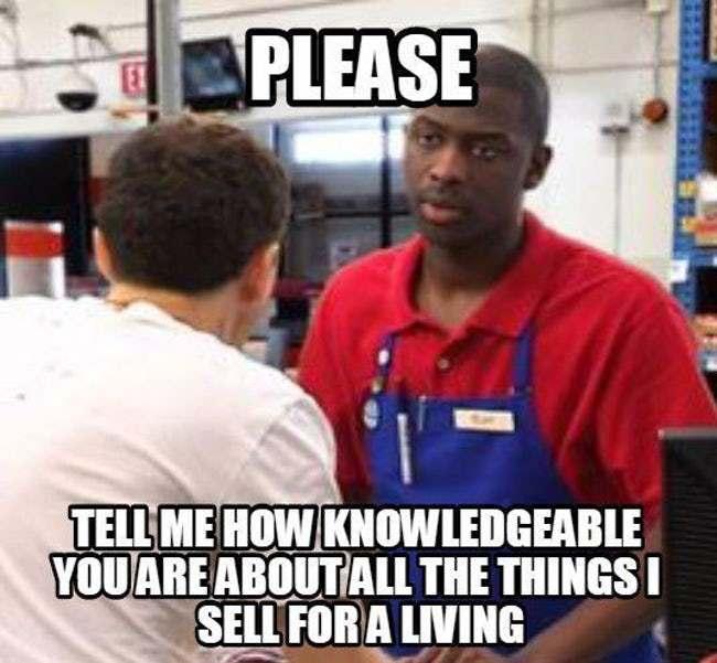 humorous retail memes