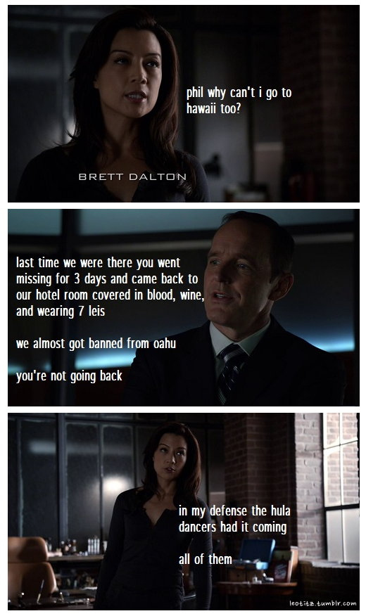 jolly Agents of Shield memes