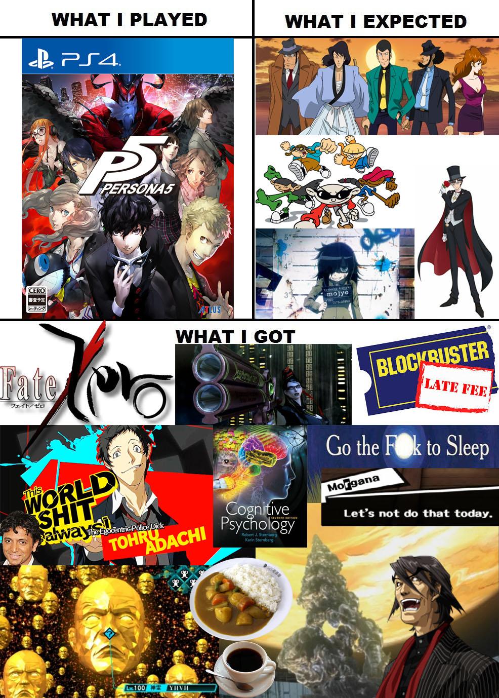 jolly Persona 5 memes