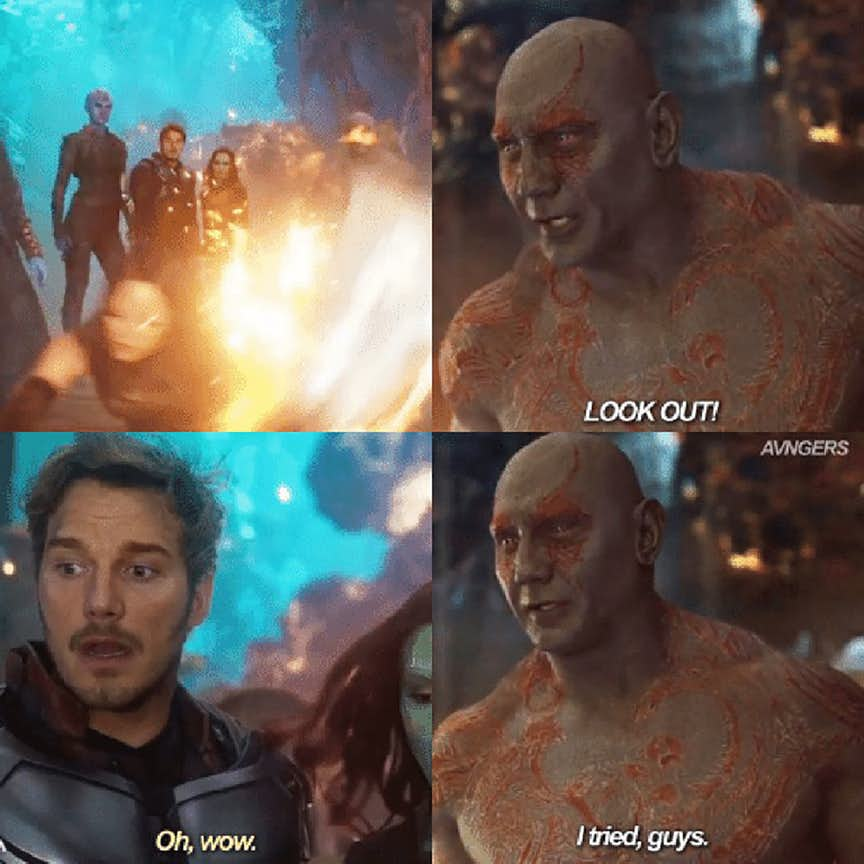 laughable Drax memes