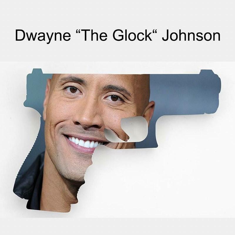 """laughable Dwayne Johnson """"The Rock"""" memes"""