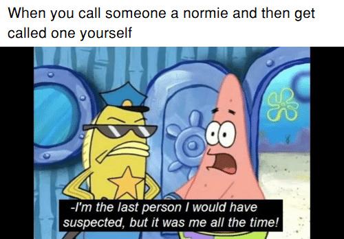 laughable Normie meme