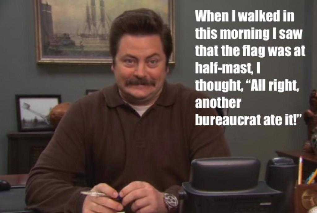 laughable Ron swanson memes