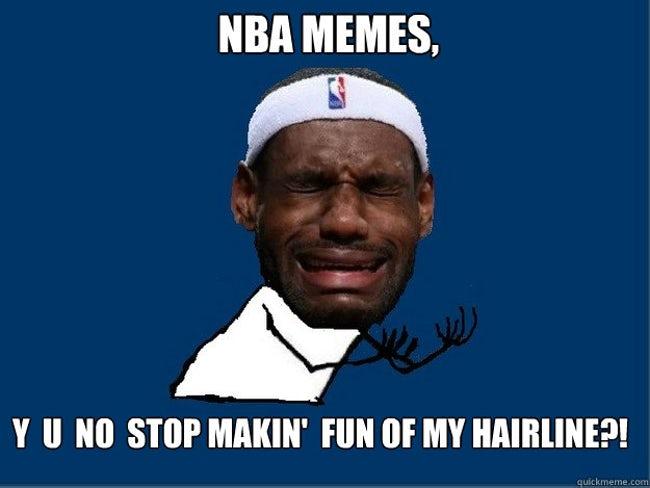 laughable lebron james memes