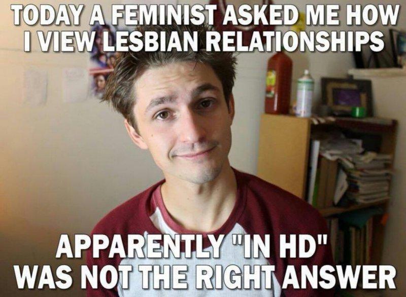 laughable lesbian memes