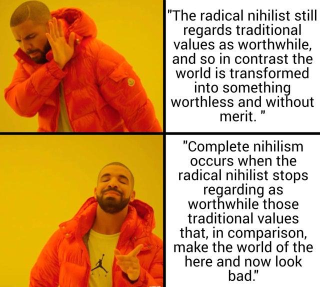laughable nihilist memes