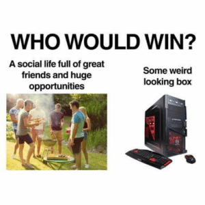 laughable who would win memes