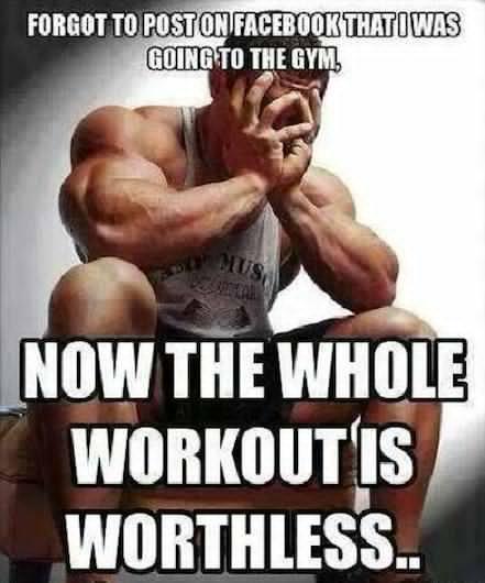 laughable workout memes