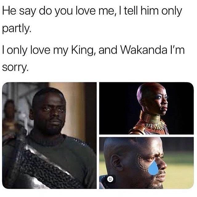 lively Black panther memes