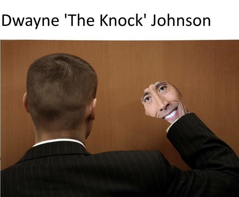 "lively Dwayne Johnson ""The Rock"" memes"