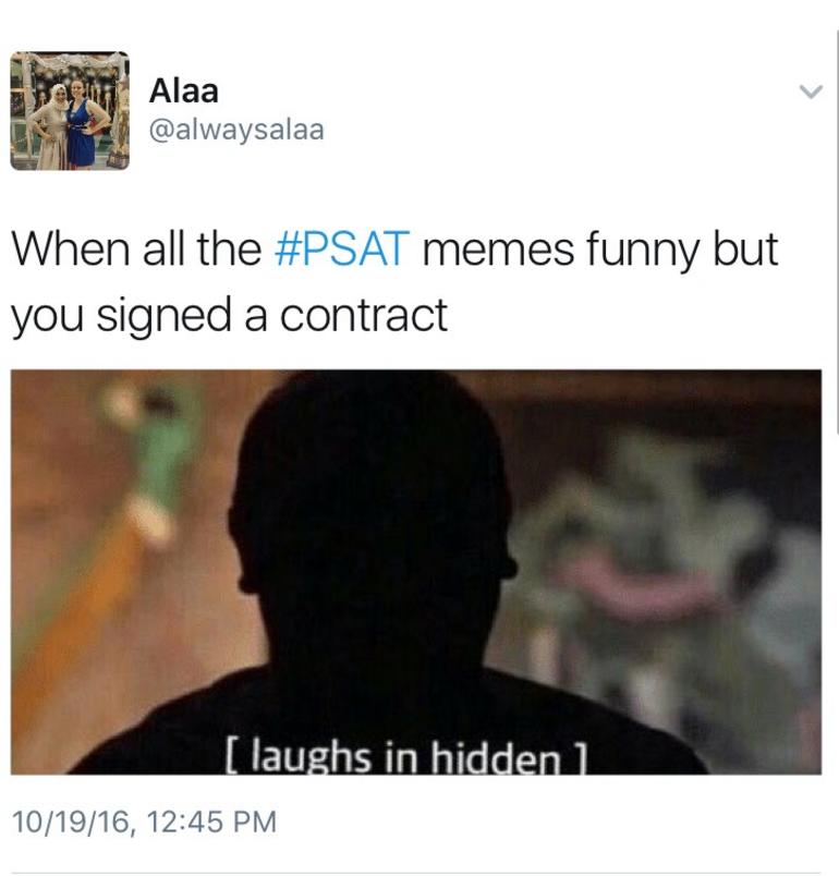 lively Psat memes