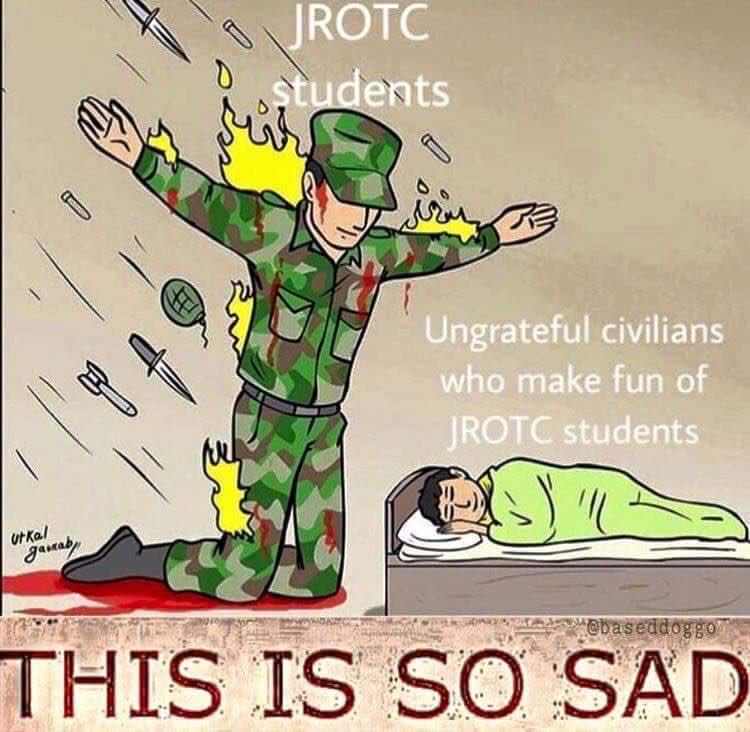 lively jrotc memes